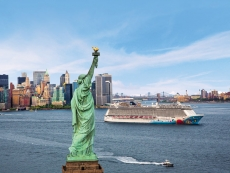 Die Norwegian Breakaway in New York