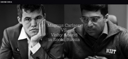 Yet another Carlsen Anand WM Kampf