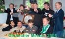 Wer wird Deutscher Meister? Vlastimil Babula und Zbynek Hracek (oben mittig) nach dem Stichkampf-Sieg gegen die SG Porz 2005 (Foto: SV Werder Bremen)