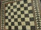 Schach hat in Griechenland eine lange Tradition (Schachbrett, Insel ELOS, 275 v.Chr.)