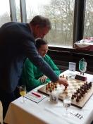 Marco Bode und der ukrainische GM Zahar Efimenko